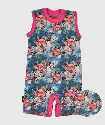 Summersuit Blue Wild Roses