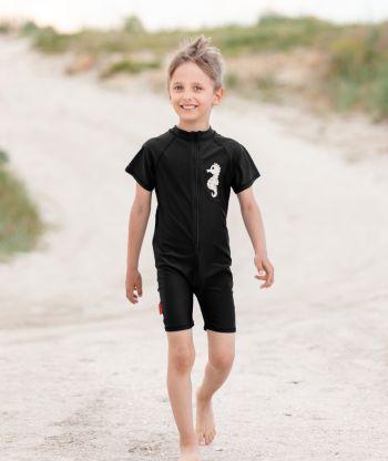 Swimsuit Black Seahors